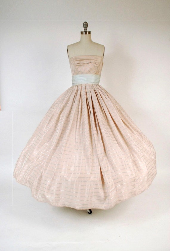 1950s Vintage Evening Gown/Ballgown