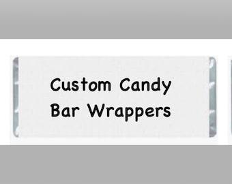 Custom Candy Bar Wrapper