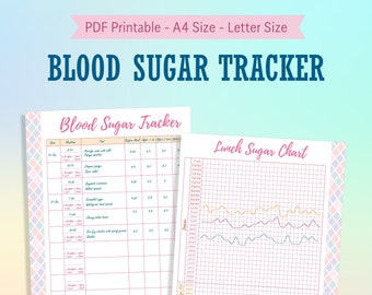 picture relating to Blood Glucose and Food Log Printable named Diabetic diary Etsy