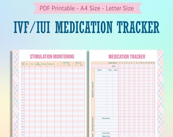 photo about Ovulation Chart Printable known as Ovulation tracker Etsy