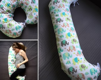Pregnancy pillow Maternity Breastfeeding Feeding Nursing Body support pillow Belly pillow Expecting