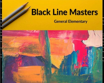 Black Line Masters: General Elementary Edition Teacher's Template E-Book