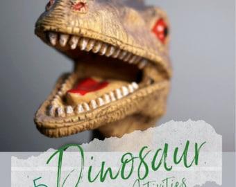 Dinosaur Printables Sensory Activities e-Book for Kids