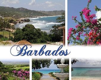 A2 Photo Poster Barbados
