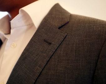Jacket Grey Linen