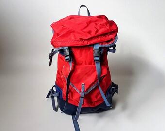 a5008e8d0447 Vintage Backpack   Hiking Backpack   Vintage Rucksack   Retro   70s    Yugoslavia