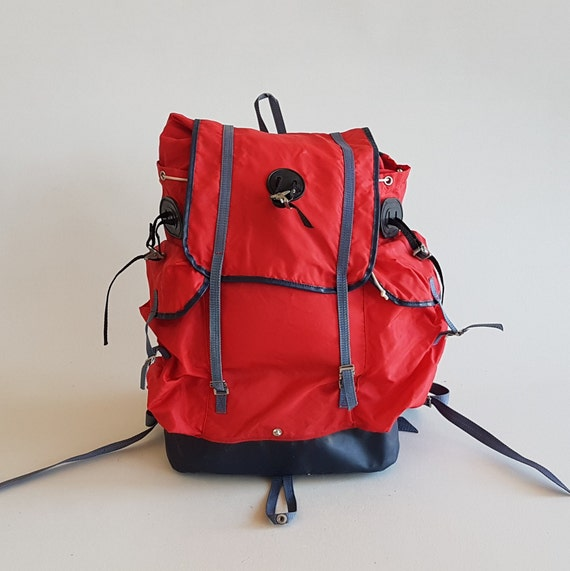 Vintage Backpack / Hiking Backpack / Rucksack / Re