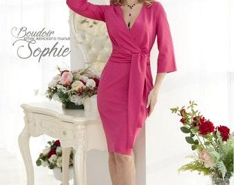 beaa4e93126d14 Elegante roze jurk