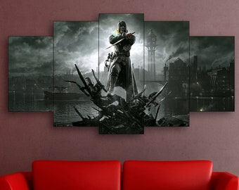 Dishonored canvas, Dishonored print, Dishonored wall art, Dishonored art
