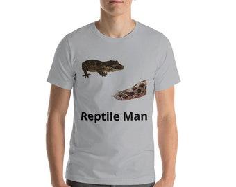Reptile Man Shirt Cool Reptile T shirt Hognose Snake Shirt Gargoyle Gecko Shirt Snake Lover Shirt Reptile Apparel