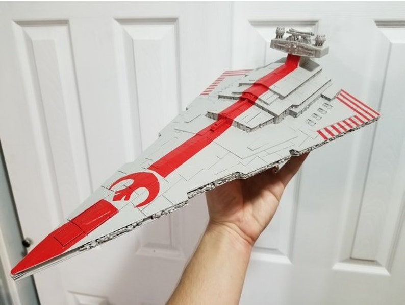 star wars decoration / Imperial Star Destroyer / cosplay / 3d print /the  force awakens