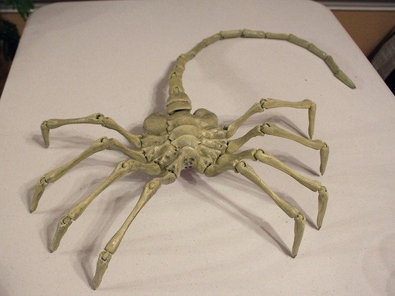 3d printer Face Hugger alien replica full articulated