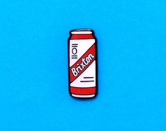 Brixton Enamel Pin / Keyring