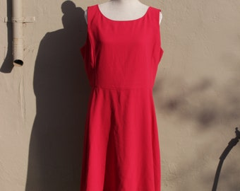 Mod. Banana Republic Banana Republic Dress Volup Vermillion Size 14 Volup
