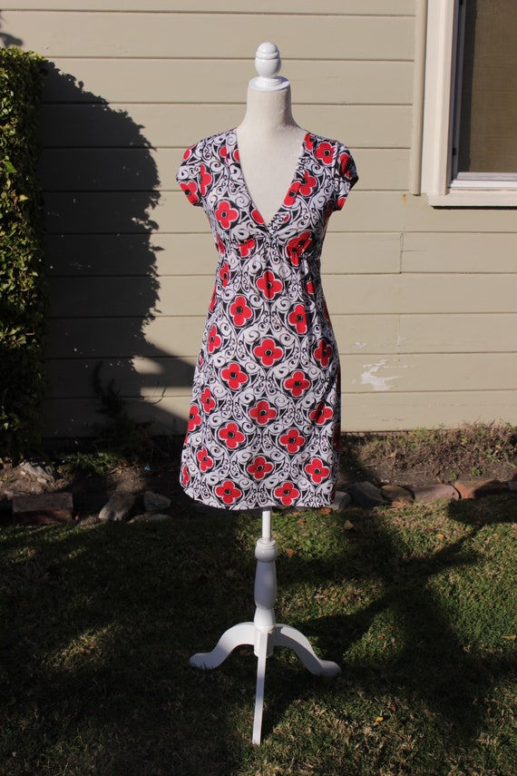 Vintage Dress. Vintage Novelty Dress. Retro Dress.