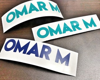 Name Decals for School, School Decals, Back to School Labels Name Labels, Custom Monogram Name Decals, Label School Supplies, Name Stickers
