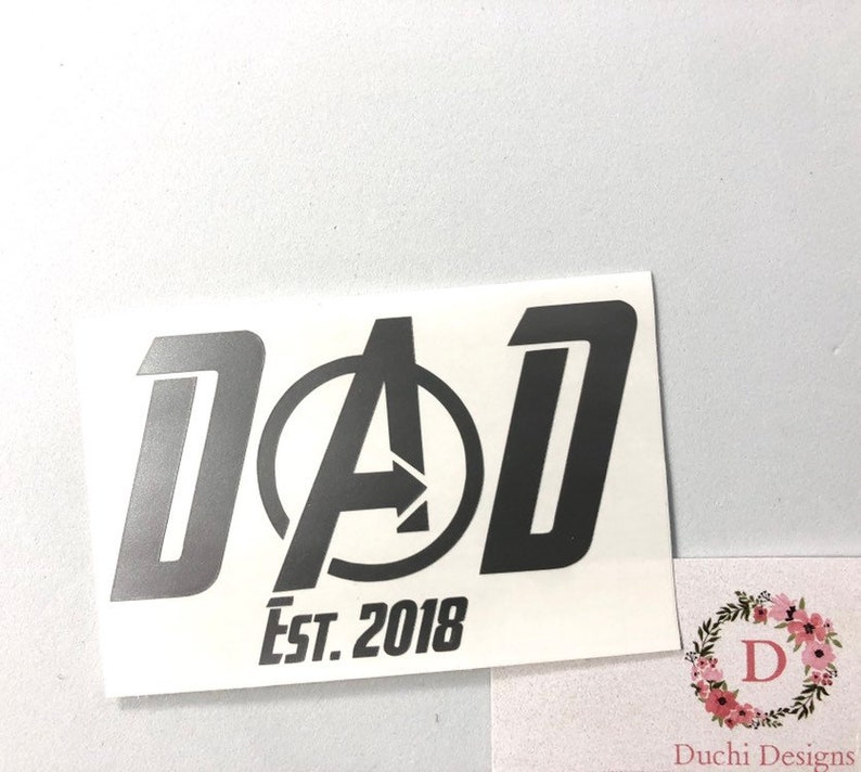 Avengers Car Decal Avengers End Game Decal The Avengers Laptop image 0