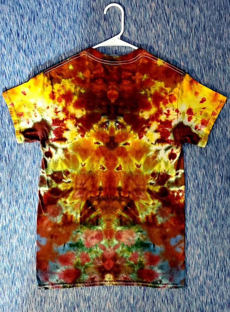 Demogorgon Phsycadellic Ice Dye Tee Shirt Small
