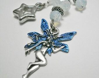 Fairy bag charm,Fairy charm,car charm,keychain charm,Fairy gift,purse charm,keychain accessory,handbag charm,bijou de sac,bag accessory