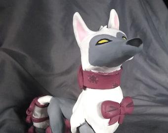 Custom Animal Jam polymer clay figure (Please read description!)