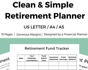 budgeting planner a5 planner finance tracking simple budget etsy