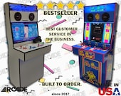 4 Player Slim Arcade Machine Cabinet! Ships Fully Assembled (pi4)
