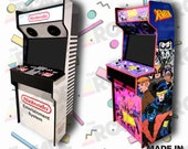 2 Player Retro Arcade Cabinet Full Size! Slim Arcade Machine Ships Fully Assembled (pi4)