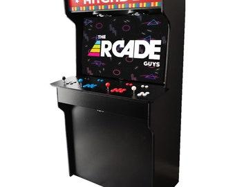 "43"" 4K Custom Arcade 4 Players BRAND NEW Full Size RETRO Model"