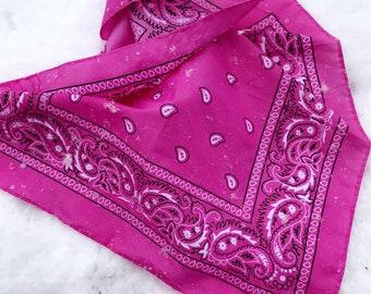 pretty in pink!   ~pink bandana~