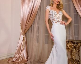 Novia lace wedding dress