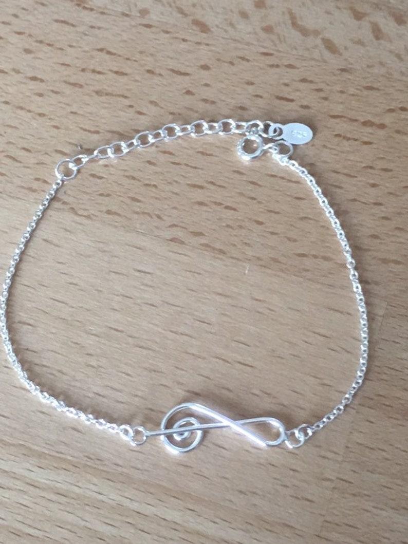 New solid silver floor key bracelet thanina jewelry