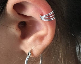 """New silver ear ring """"thanina jewelry"""""""