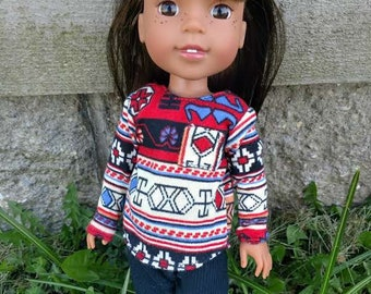 Tunic and Leggings for Wellie Wishers Dolls