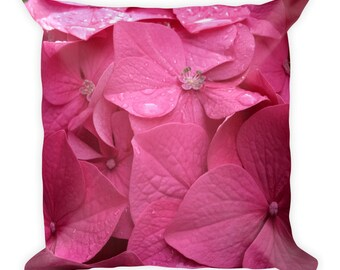 Beautiful Floral Square Pillow to Brighten Any Room