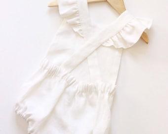594ba1ab0 Linen baby romper