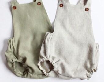 7ba973715 Linen baby clothes