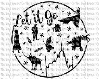 let it go etsy 24 FT Airstream Motorhome digital download disney s frozen let it go svg