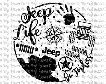 jeep wrangler svg etsy Cool Jeep Wrangler Colors digital download jeep life go topless svg