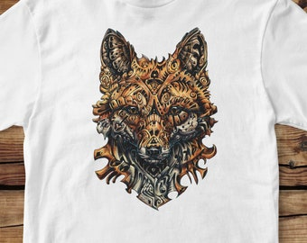 Fox T-Shirt 100% Organic coton eco-friendly