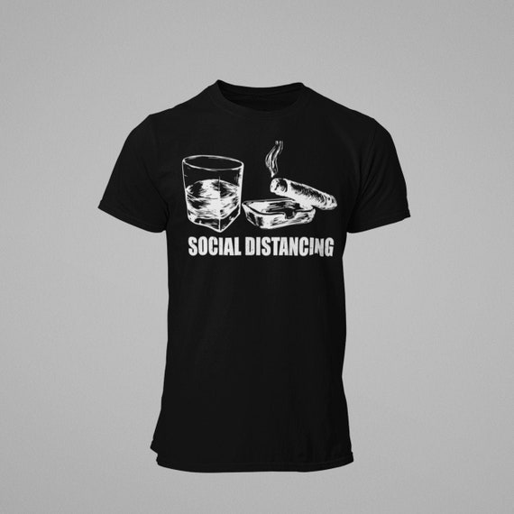 Social Distancing ( Drink and Cigar)