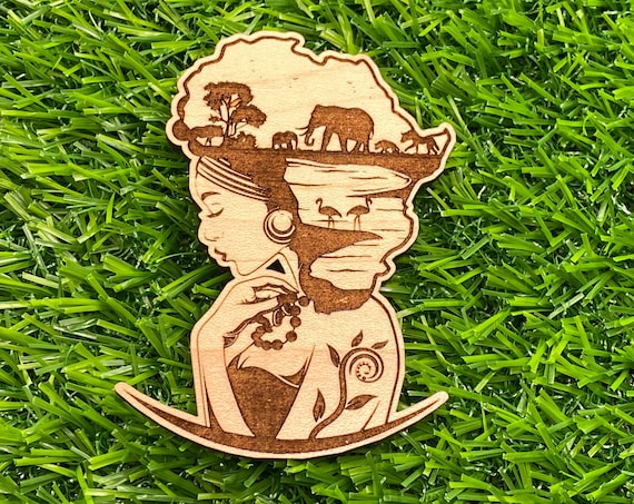 Mother Africa Pin