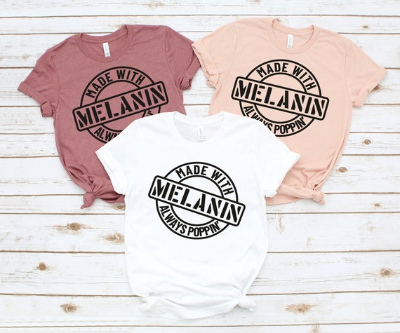 Made With Melanin Graphic Tee
