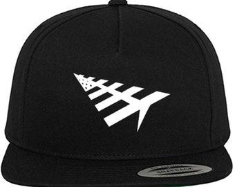 69f7598074ee1 NEW Paper Planes Rocafella Rocnation Roc Nation Jay Z J Cole Black Snapback Cap  Hat