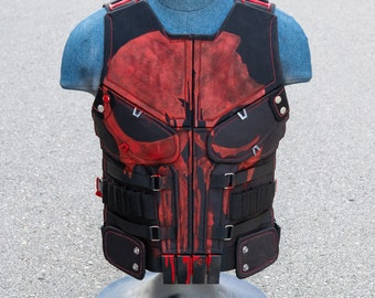 Punisher Thunderbolts Vest - Cosplay