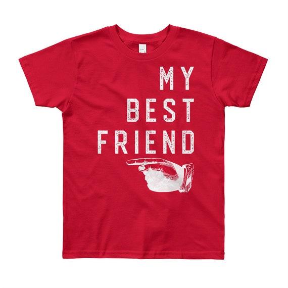My Best Friend   Kids Tee Shirt   Kids Quotes   Youth Short Sleeve T-Shirt