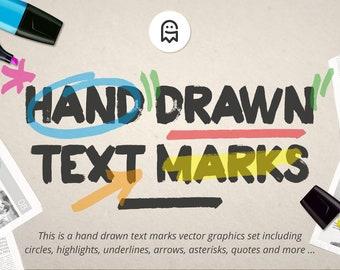 Hand Drawn Marks