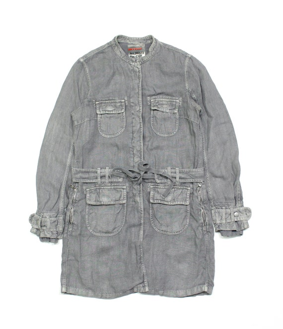 Prada Sport Vintage Linen Long Jacket