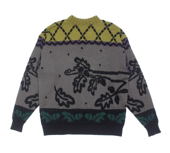 Carlo Colucci Wool Embroidered Sweater - image 2