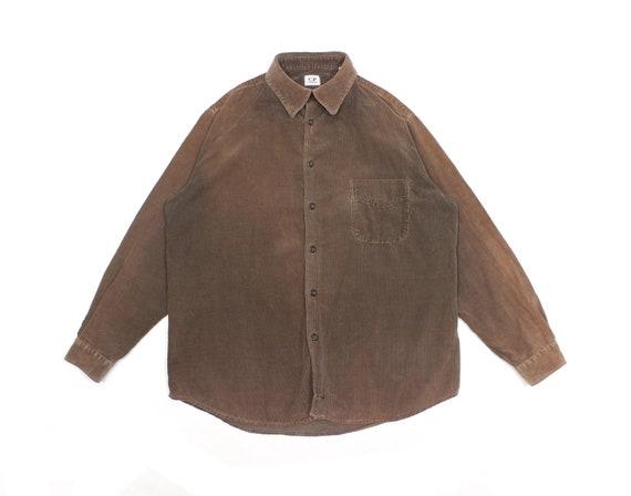 C.P. Company A/W 2001 Sun Faded Corduroy Shirt Vin