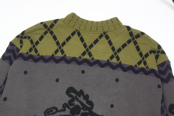 Carlo Colucci Wool Embroidered Sweater - image 4